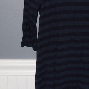 GAP Tops - Cotton Striped 3/4 Sleeve Shirt